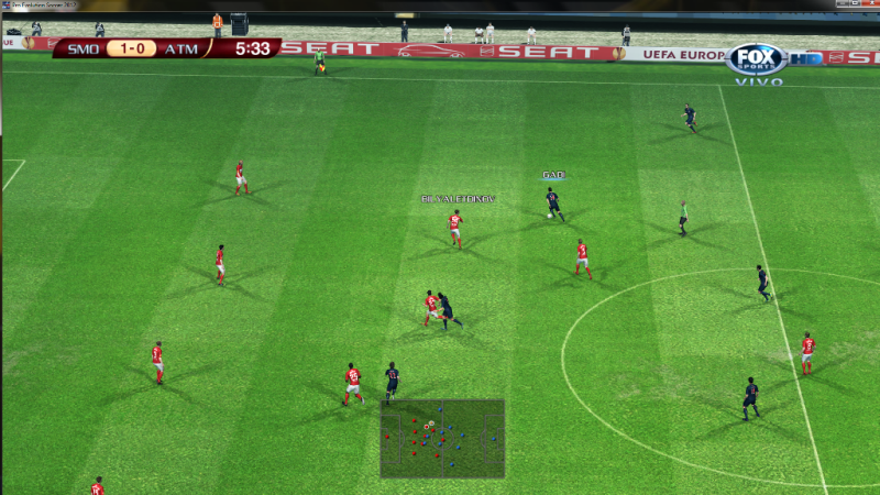 [Aporte] FOX Sport HD Mode PES 2012 (Scoreboard)