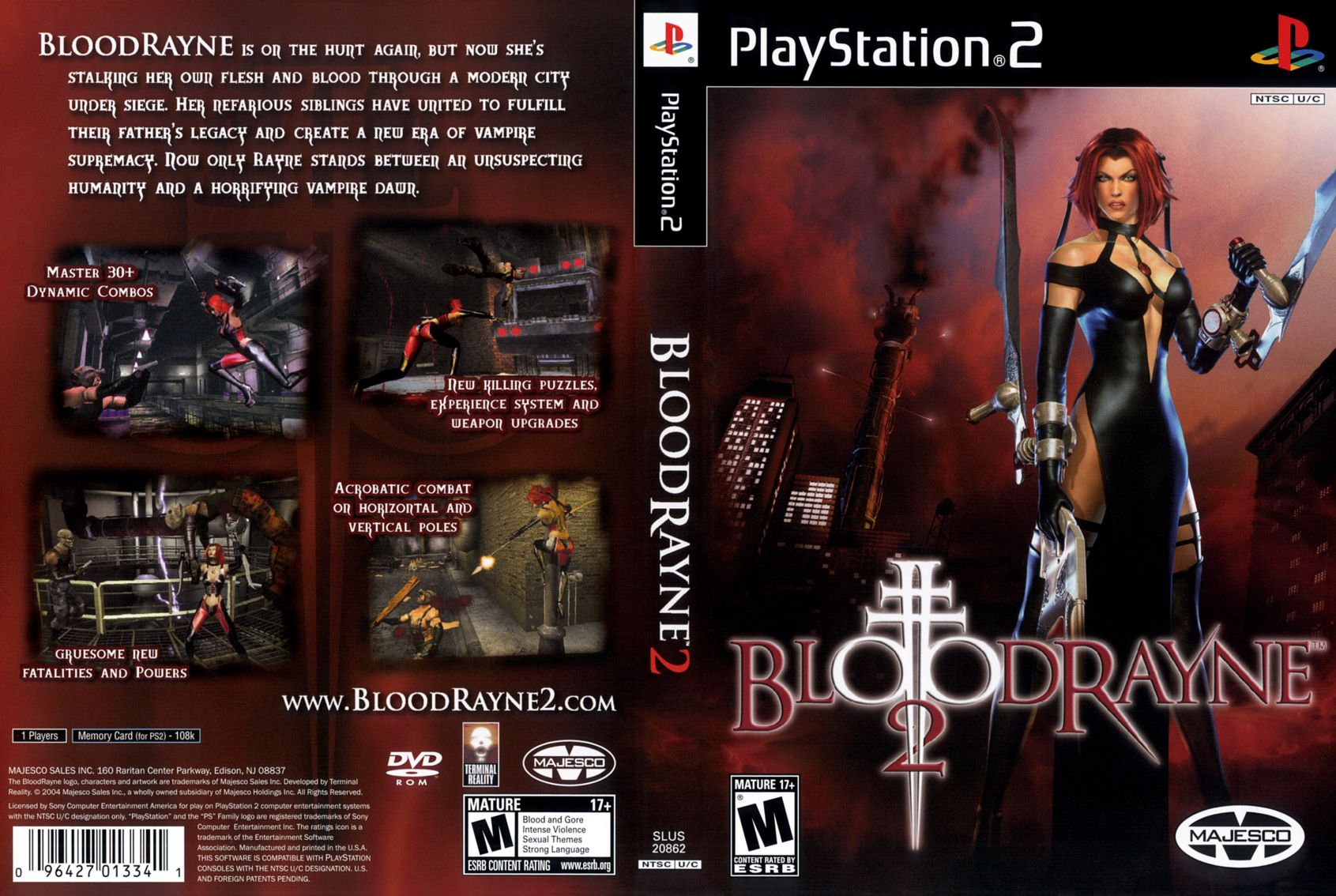 bloodrayne 2 pc completo