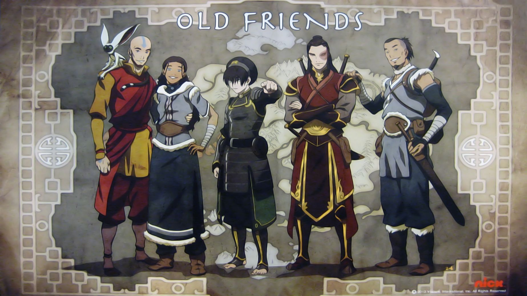 aporte wallpaper hd avatar old friends by juventudsuiza