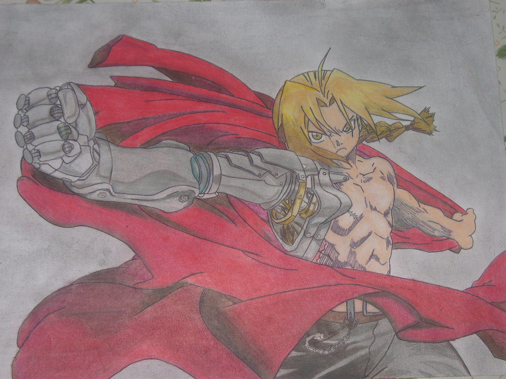Edward Elric [FMA Broterhood] - Dibujo propio