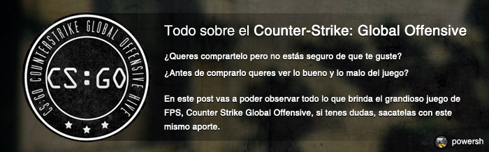 Todo sobre Counter-Strike: Global Offensive