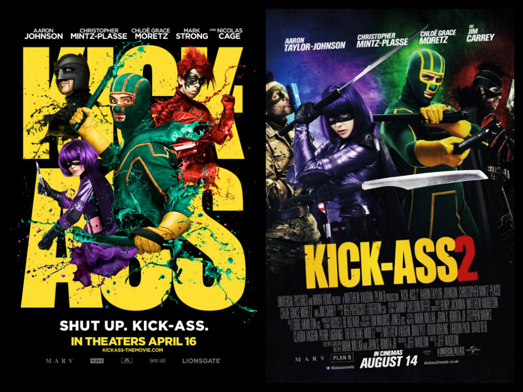 Superhéroes y supervillanos de Kick-Ass 1 y 2