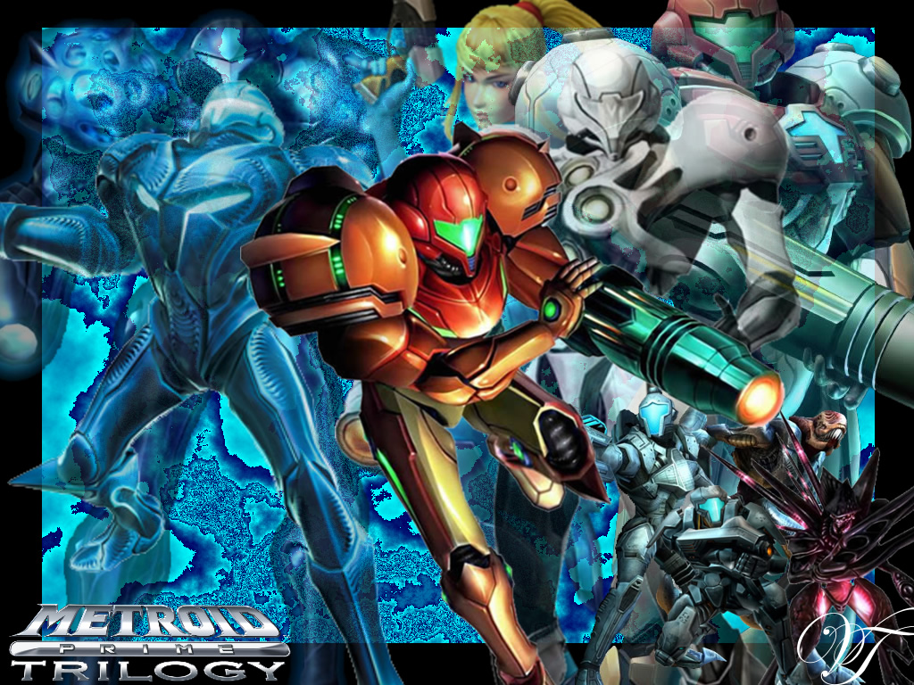wallpapers metroid