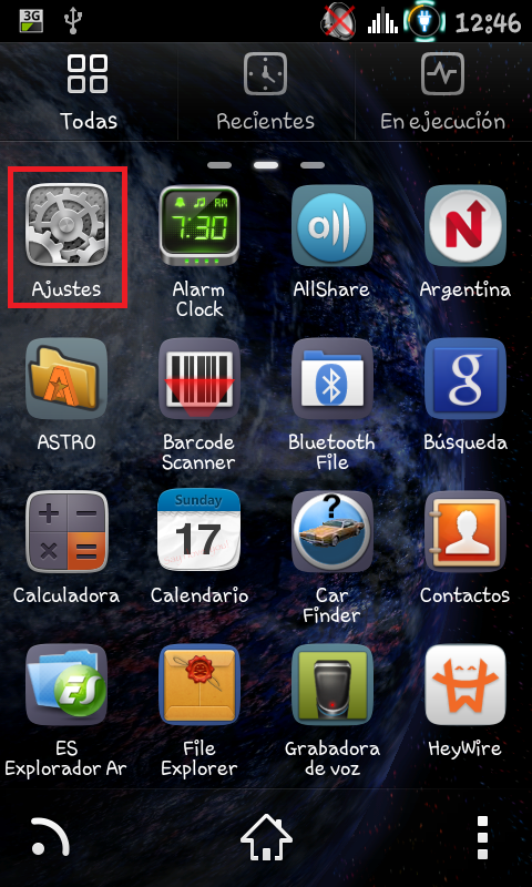 (Aporte) Parte 2 Rootear Samsung Galaxy S Advance
