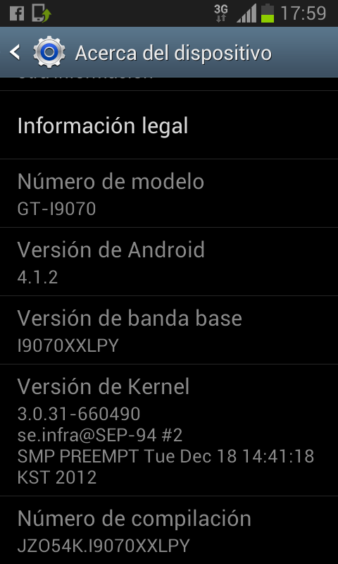 (Aporte) Jelly Bean para Samsung Galaxy Advance+ Root