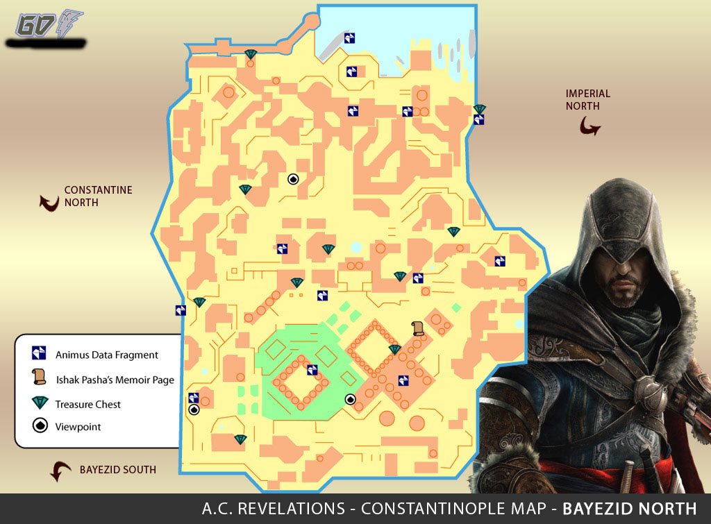 Assassins Creed Revelations [Mapas completos del juego!]