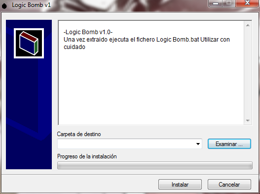 Batch - Logic Bomb v1.0 Win7