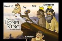 #messi #maradona #pele #pep #ronaldo