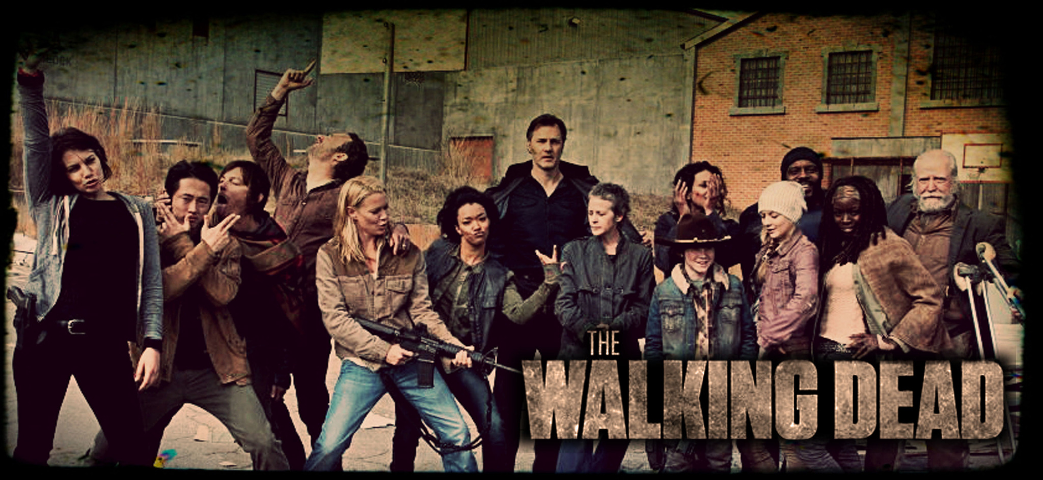 The Walking Dead Temporada 6 Cartel Fondos Fondos De: Walking Dead ...