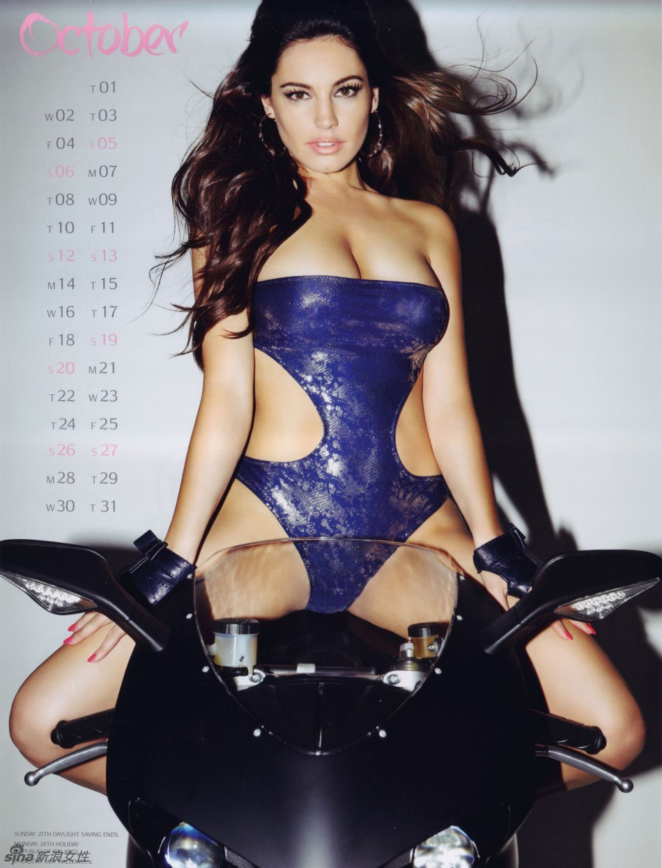 Calendario 2013: hot fotos de Kelly Brook