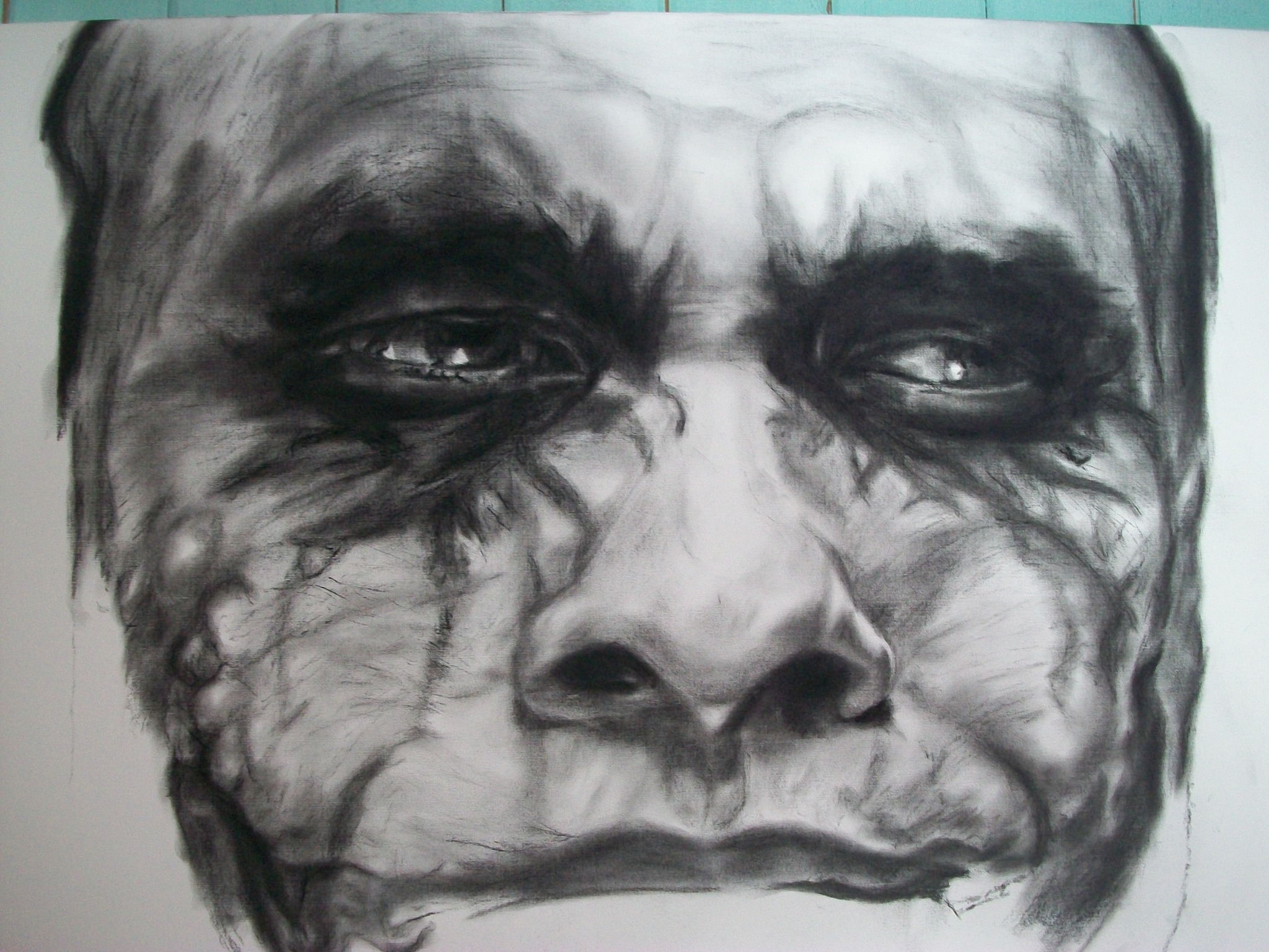 the joker retrato grande