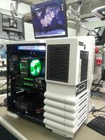 Level 10 GT Snow Edition White Full-Tower Case, CORSAIR, 32GB (8 x 4GB), DDR3 1600MHz,  2x EVGA GeForce GTX 690, i7-3970X Six-...
