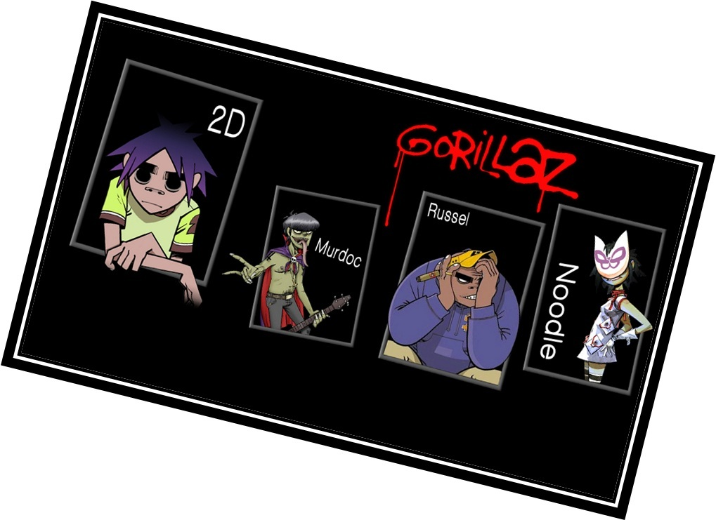Gorillaz Альбом Demon Days