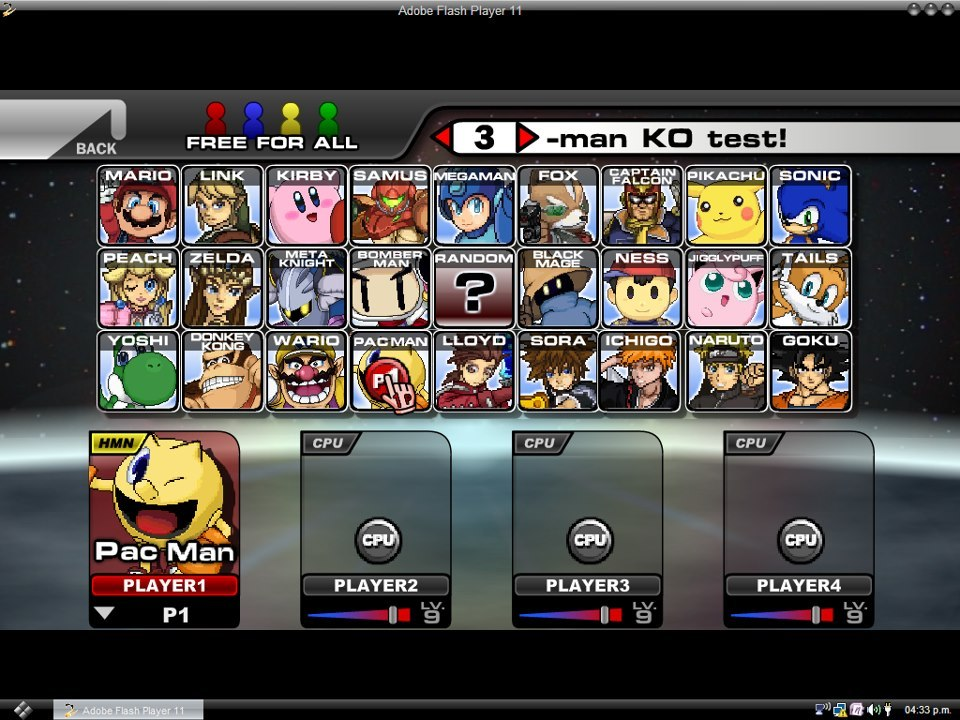 Descargar Super Smash Flash 2 Demo v0.9