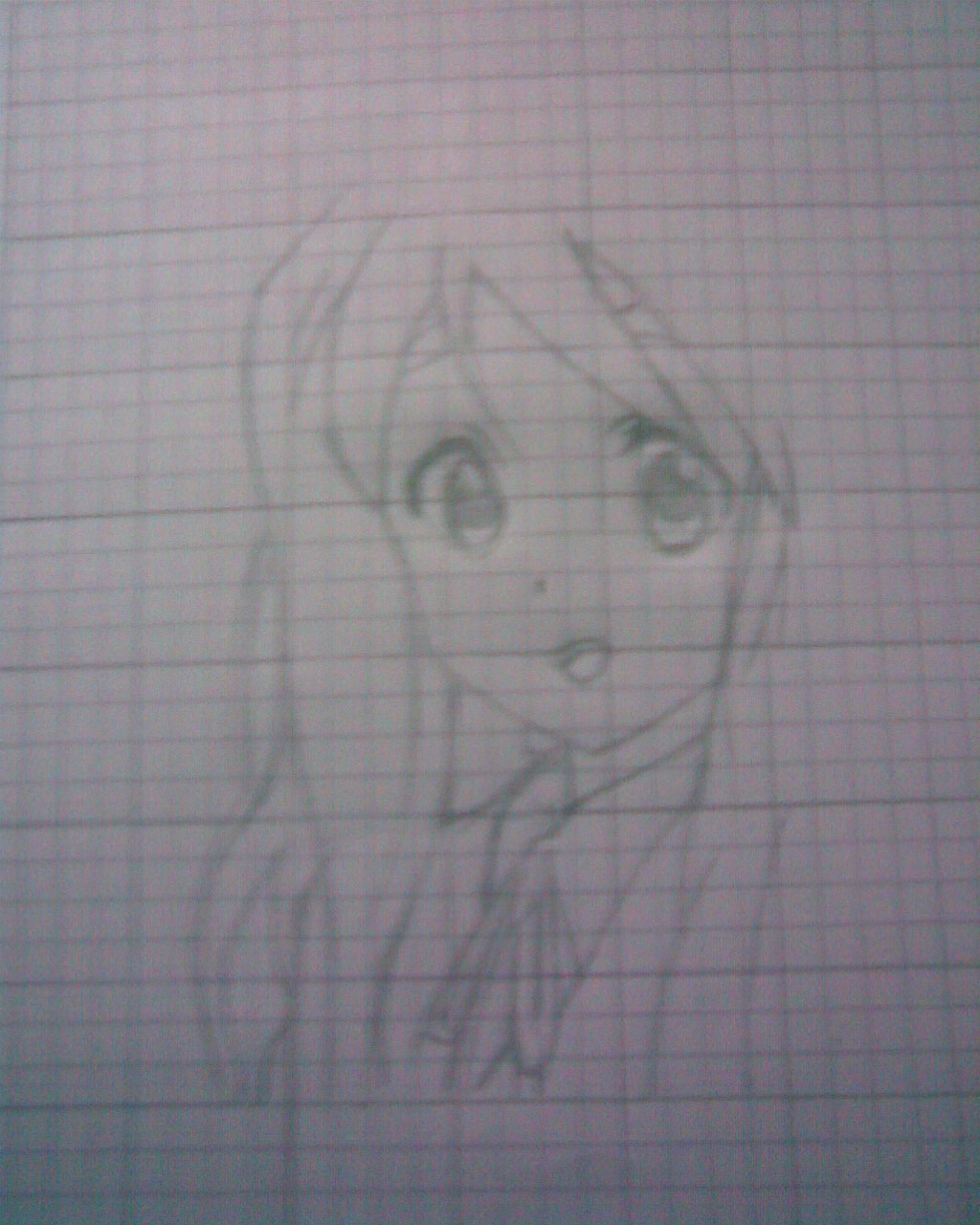 Mi simple dibujo anime (Mugi - k-on!)