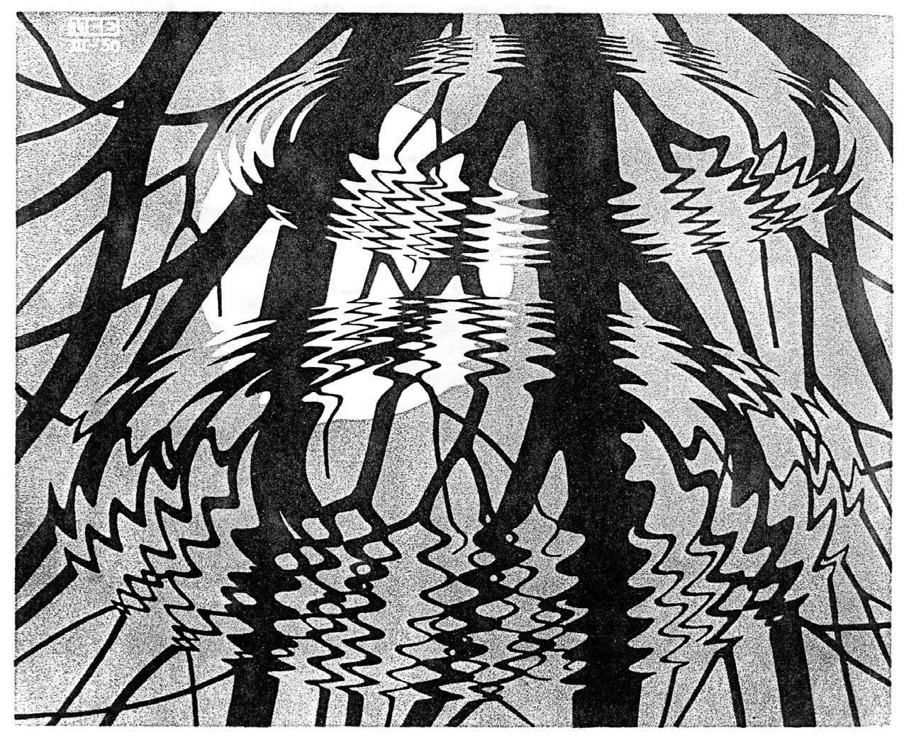 an introduction to the work of m c escher Introduction this website invites  enter, and explore the life and work of a remarkable artist m c escher, tree 1919, woodcut on wove paper, 461 × 375 cm.