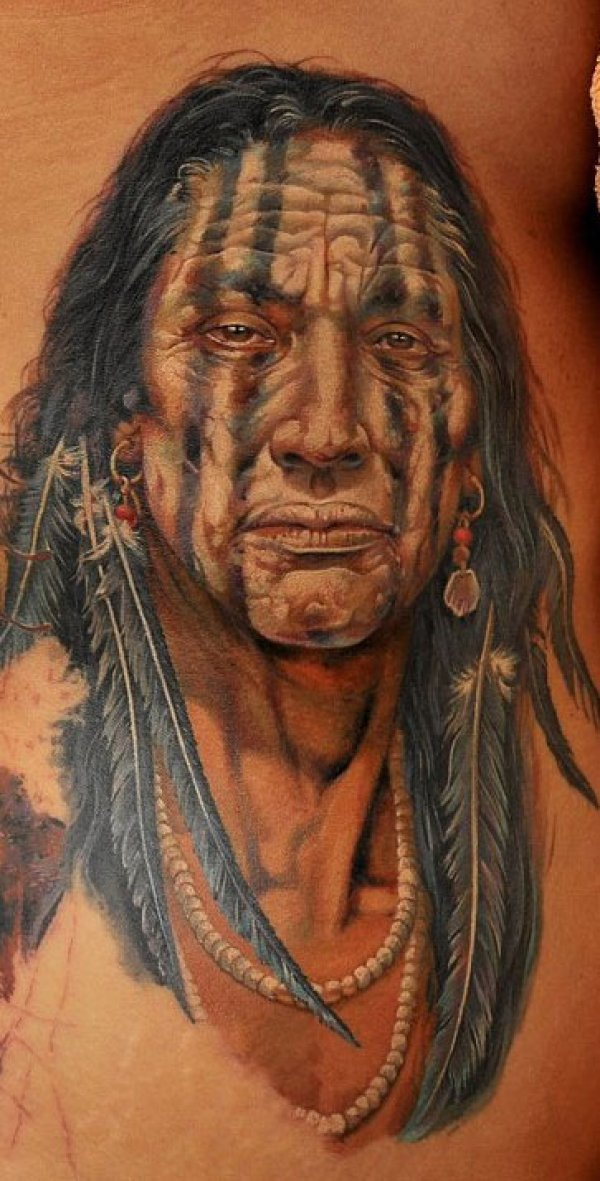 Getting A Native American Indian Tattoo The Trouble With - 600×1181