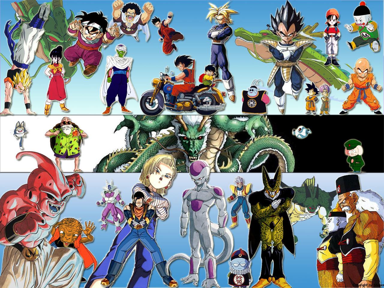 Wallpapers dragon ball z hd im genes taringa - Tout les image de dragon ball z ...