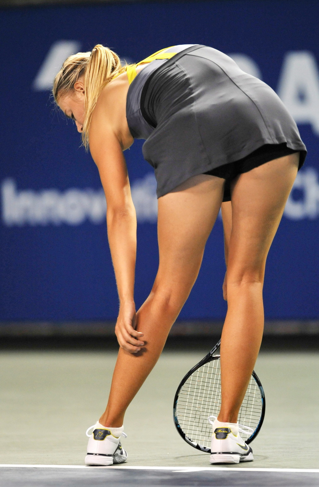 Tenniswoman Butts 85