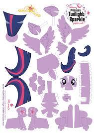 Papercraft de my little pony